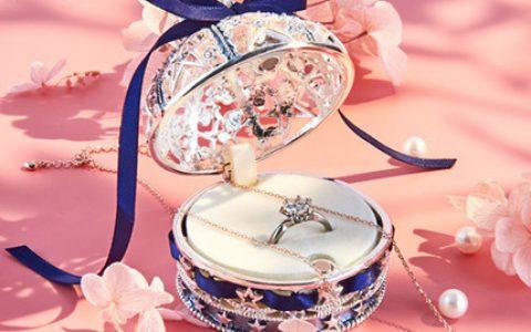 日本Piearth高档戒指项链礼盒
