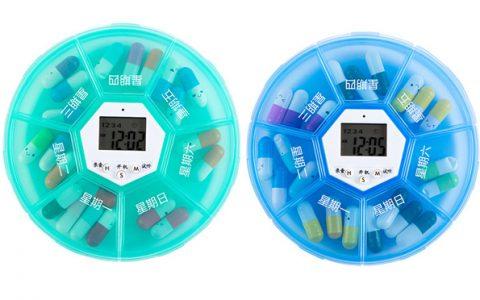 便携式录音智能定时药盒